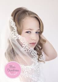 1st communion veils veil camila communion veil for by mb dress boutique
