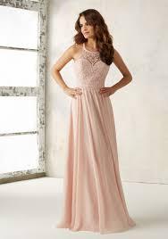 bridesmaids dress chiffon bridesmaids dress beading on bodice style 21512 morilee