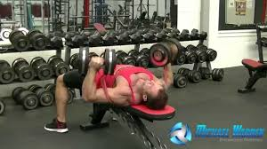 band resisted dumbbell bench press fitnessrx for men youtube