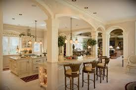 open kitchen designs with island