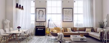Chic Living Room by Awesomely Stylish Urban Living Rooms