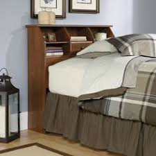Sauder Bedroom Furniture Sauder Shoal Creek Twin Mates Bed With Headboard Soft White