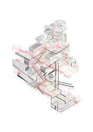 Architectural Diagrams Making Stations Collaged Studies Of New Station Typologies