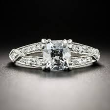 1 Carat Cushion Cut Engagement Ring 1 11 Carat Antique Cushion Cut Diamond Vintage Engagement Ring