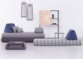 Flexible Sofa This Modular Sofa Can Be Stacked And Rearranged To Fit Your Tiny