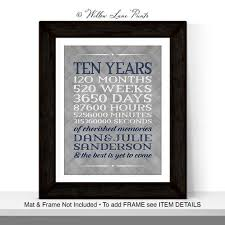 10 year anniversary gift ideas for husband 38 best custom anniversary gift ideas for him or images on