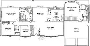 large ranch floor plans seneca by wardcraft homes ranch floorplan