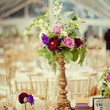 Candle Holders Decorated With Flowers 19 Best Vintage Romantic Wedding Flowers Images On Pinterest