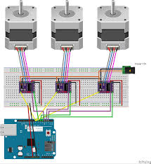 Stepper Motor Driver Wiring Diagram Connecting Grbl Grbl Grbl Wiki Github