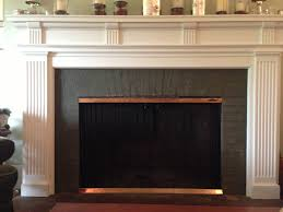 painting tile around fireplace fireplace ideas
