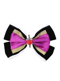bows for hair disney snow white evil hair bow hot topic