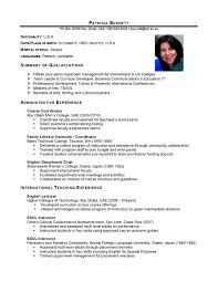 Job Resume Samples No Experience by Attractive Resume Templates Word English Twhois Teacher Template