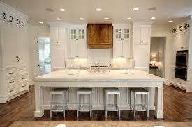 Glacier Cabinets Glacier White Granite Kitchen Tropical With Island With Seating