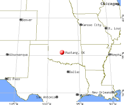 at the mustang ok mustang oklahoma ok 73064 profile population maps