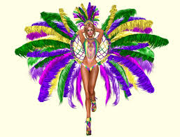 carnival costume second marketplace mardi gras samba showgirl complete