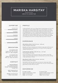 unique resume templates free creative professional download for