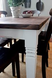 How To Build A Dining Room Table Plans by Diy Farmhouse Table Free Plans Rogue Engineer