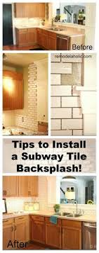Backsplash Tile Tips If The Tile Will Go Around Any Windows - Tiling a backsplash