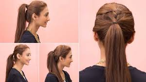 cute hairstyles with ponytails 4 easy ponytail hairstyles quick