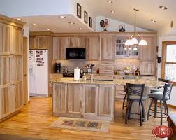 natural wood kitchen cabinets custom kitchen natural pecan wood cabinets hardwood floors and