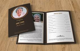 stunning memorial pamphlet template free ideas top resume