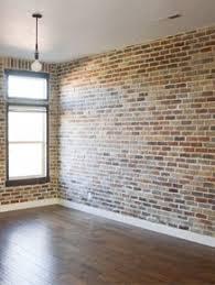 Installing Brick Veneer Inside Your Home Vintage Revivals - Brick veneer backsplash