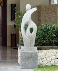 large garden sculptures majestic modern statue hage