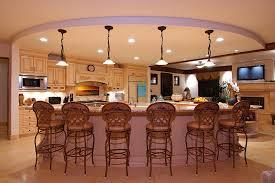 Best Kitchen Layouts With Island Kitchen Brown Island Distinctive Kitchen Open Plan Kitchen
