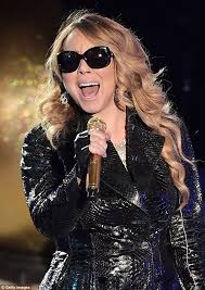 mariah carey takes the stage at the rockefeller center daily
