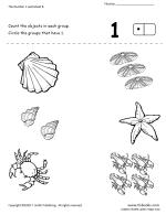 preschool number packet numbers 6 through 10