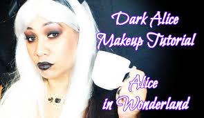 Gothic Halloween Makeup Ideas Halloween Makeup Dark Gothic Alice In Wonderland Makeup Tutorial