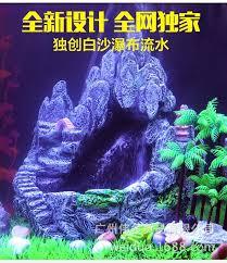 aquarium fish tank rockery landscaping resin ornaments aquarium