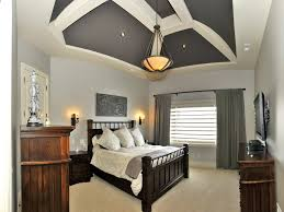 white wooden bedframe headboard bedside table basement bedroom