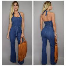 Jeans Jumpsuit For Womens Compare Prices On One Piece Denim Jumpsuit For Women Online