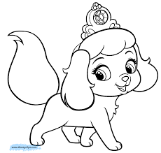 princess kitten coloring pages coloring
