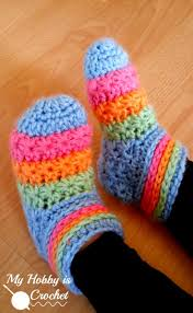 my hobby is crochet starlight toddler slippers free crochet