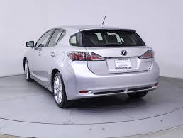 used lexus hybrid cars for sale used 2013 lexus ct 200h hybrid sedan for sale in miami fl 85581