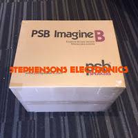 Imagine B Bookshelf Pair Psb Imagine B Bookshelf Speakers Gloss White Brand New Ebay