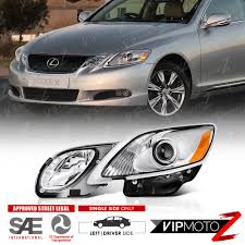 lexus gs300 for sale brunei driver side 2006 2011 lexus gs300 gs430 afs headlights lamps left