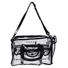 professional makeup artist bag clear makeup bag pro mua rectangular bag with shoulder