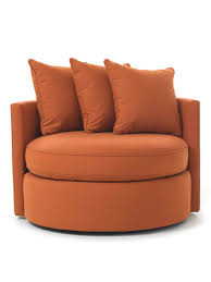 Round Armchairs Comfortable Swivel Chairs Richfielduniversity Us