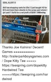 Shopping Cart Meme - deal alert aldi has shopping carts for 25e i just bought 40 for 10