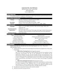 Computer Science Resume Example Sample Resume For Ojt Computer Science Students Sample Resume