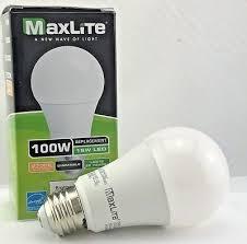 100 watt led light bulb maxlite led light bulb 15w 100 watt led non dimmable a19 e26 soft