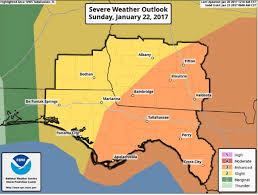 Albany Ga Zip Code Map by National Weather Service Albany Area Weekend Tornado Threat