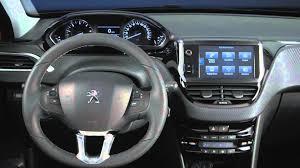 peugeot car 2015 geneva auto show 2015 peugeot 208 interior design automototv