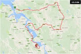 Georgetown Map Stage 1 Jayco George Town To Grindelwald Spirit Of Tasmania