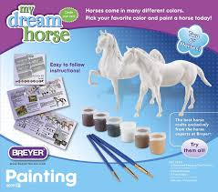 Color And Paint Amazon Com Breyer Paint Your Own Horse Craft Activity Set Toys