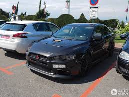 lancer mitsubishi 2015 mitsubishi lancer evolution x mr 20 august 2015 autogespot