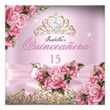 15th birthday invitations u0026 announcements zazzle co uk